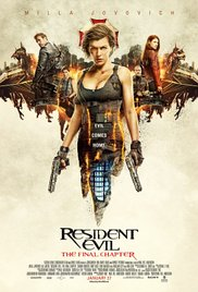 Watch Free Resident Evil: The Final Chapter (2016)