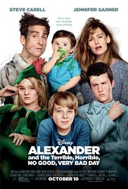 Watch Free Alexander and the Terrible, Horrible, No Good, Very Bad Day (2014)