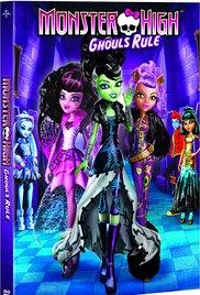 Watch Free Monster High: Ghouls Rule! (2012)