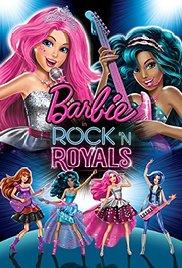 Watch Free Barbie in Rock N Royals (2015)