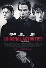 Watch Free Criminal Activities (2015)