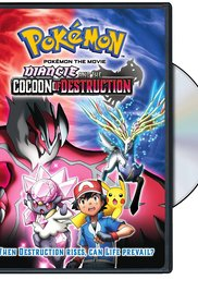 Watch Free Pokemon the Movie: Diancie and the Cocoon of Destruction (2014)