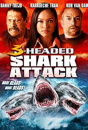 Watch Free 3 Headed Shark Attack (2015)