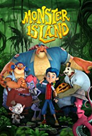 Watch Free Monster Island (2017)